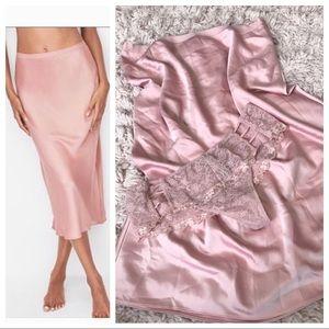 Victoria's Secret Satin Skit Lace Panty Set!